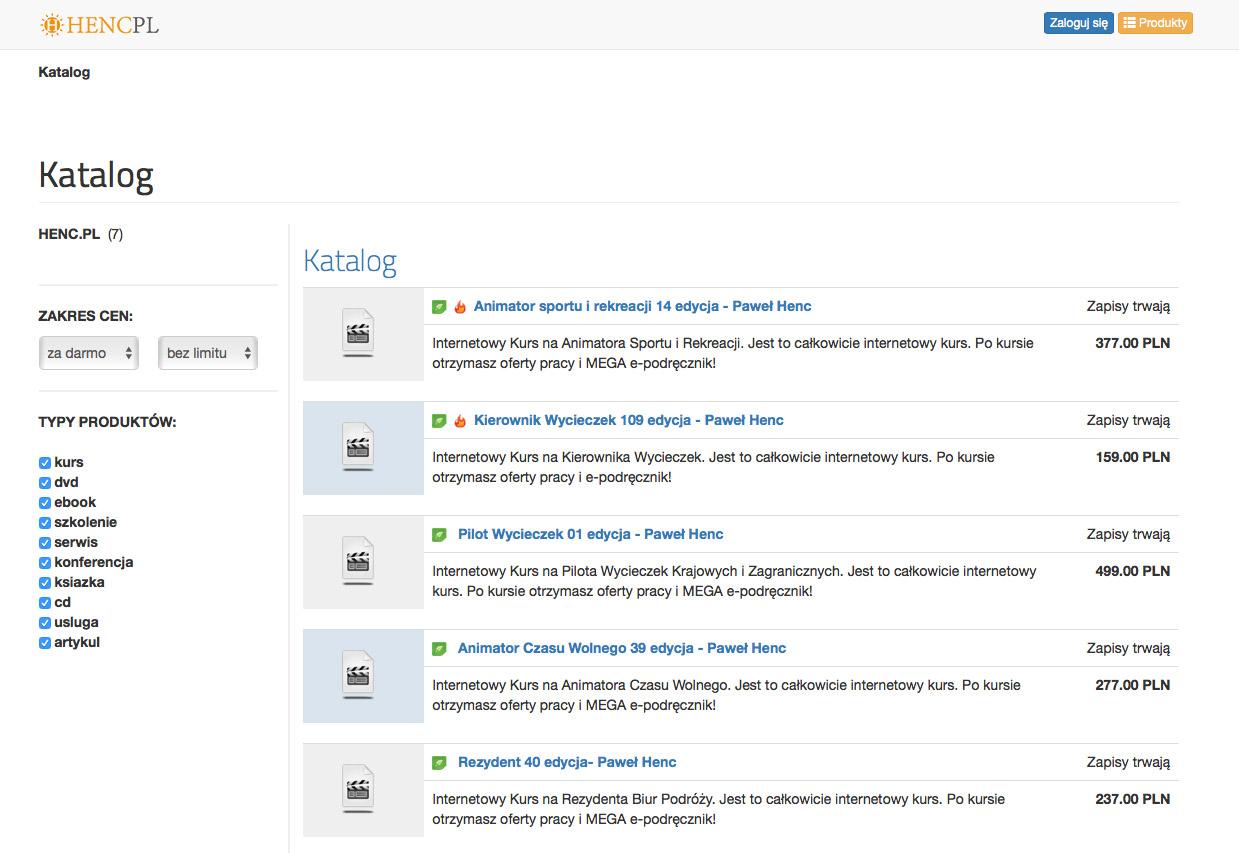 HENC.pl - katalog produktow